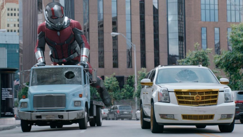 Ant-Man & wasp Car Chase