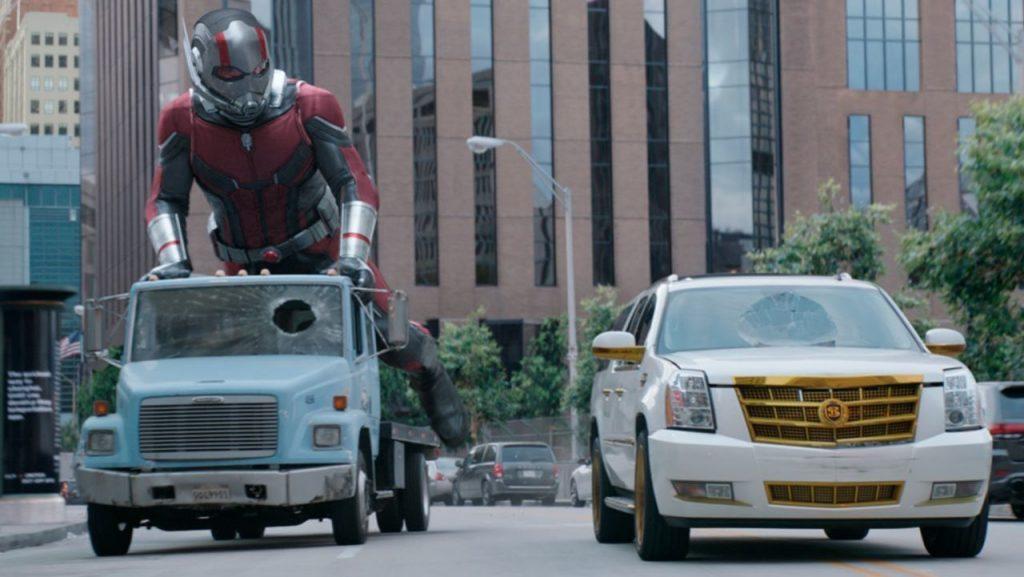 Ant-Man & wasp Car Chase