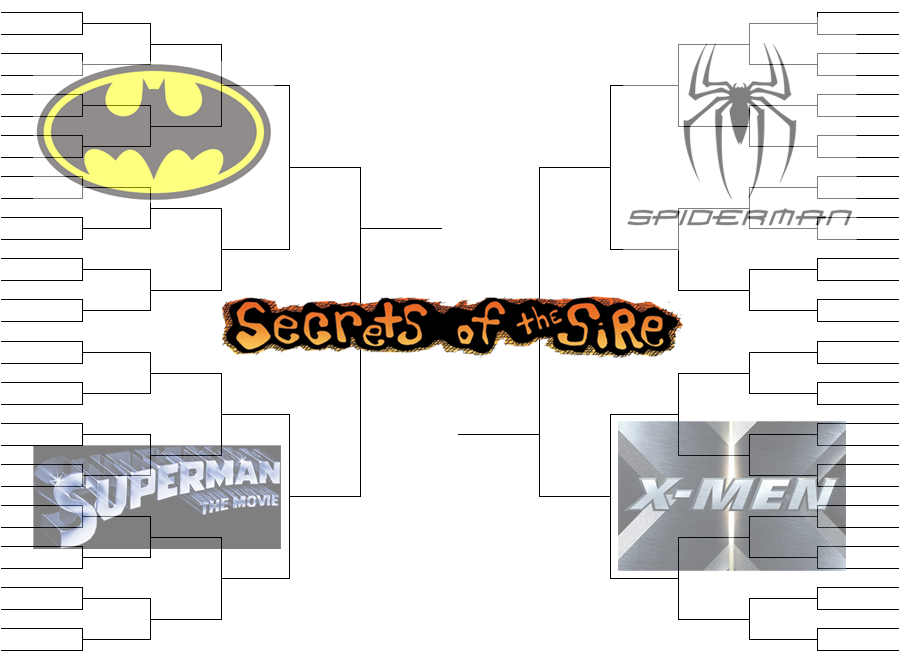 Comic Book Movie March Madness