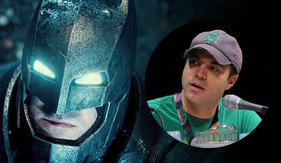 Geoff Johns Ben Affleck DC Films