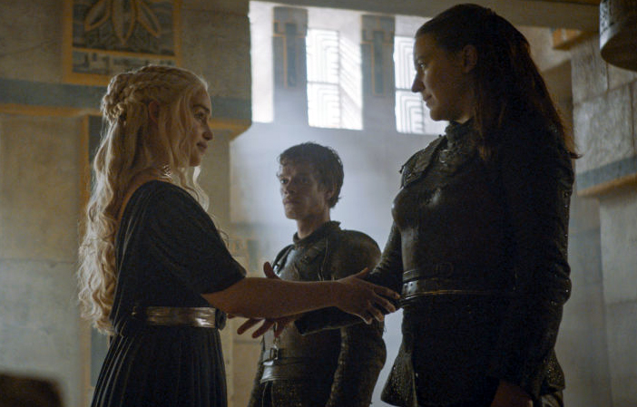 Game of Thrones fans shipping Hard Yara and Danerys