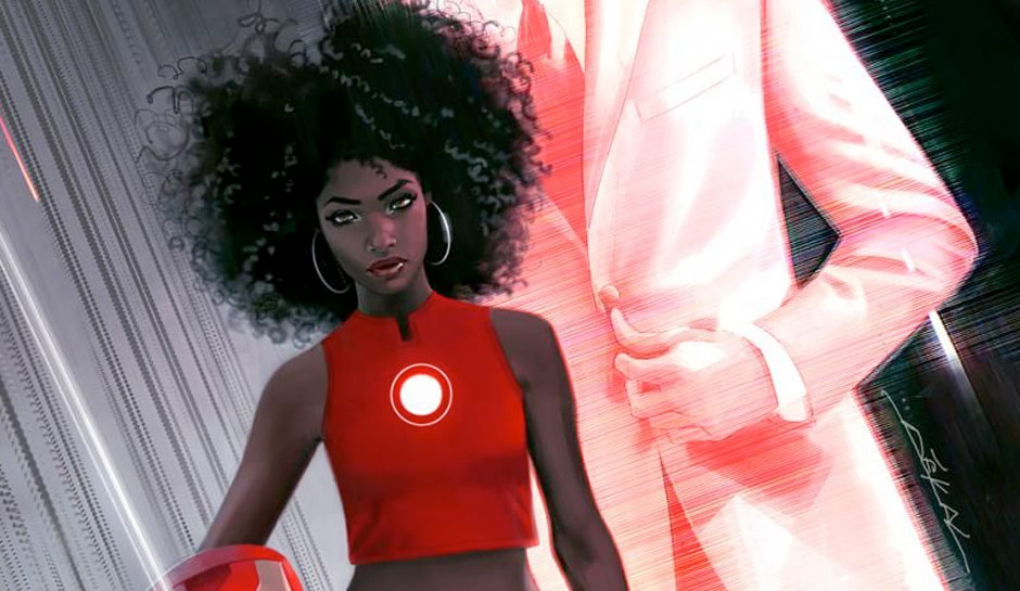 riri williams is the new iron man