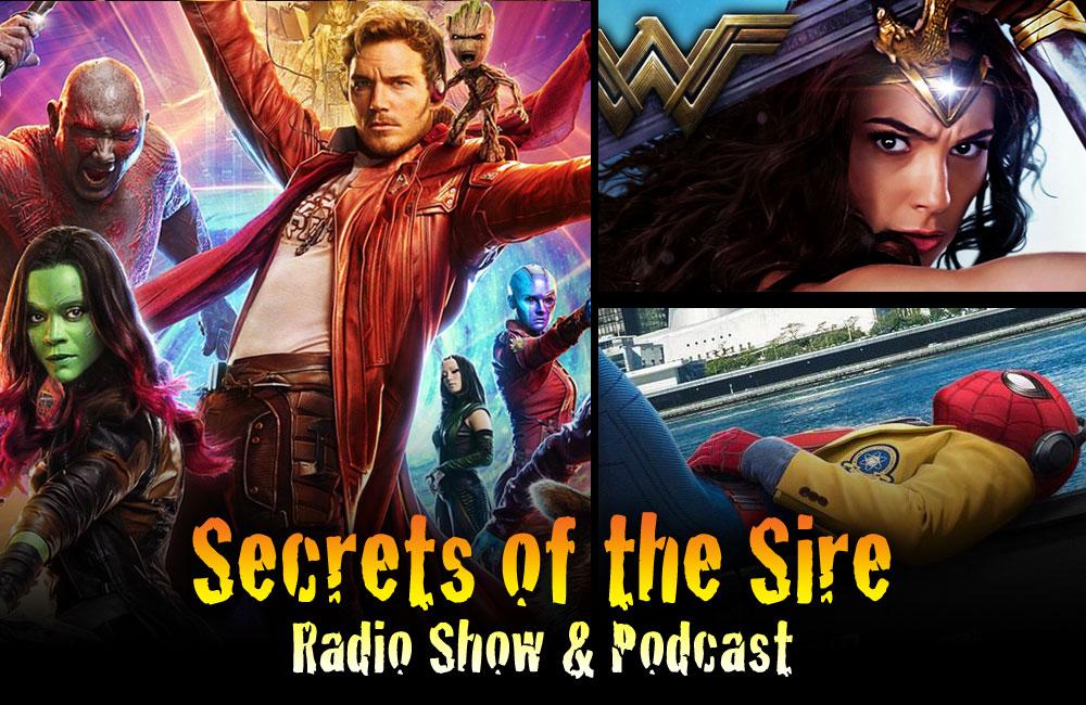 Podcast Guardians 2 Wonder Woman