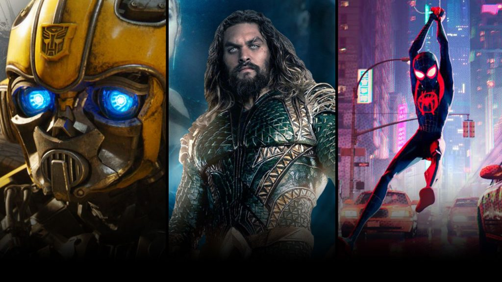 Aquaman-Spiderman-bumblebee-predictions