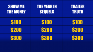 Celebrity Pop Culture Jeopardy Categories