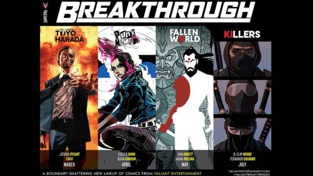 Valiant Comics Breakthrough