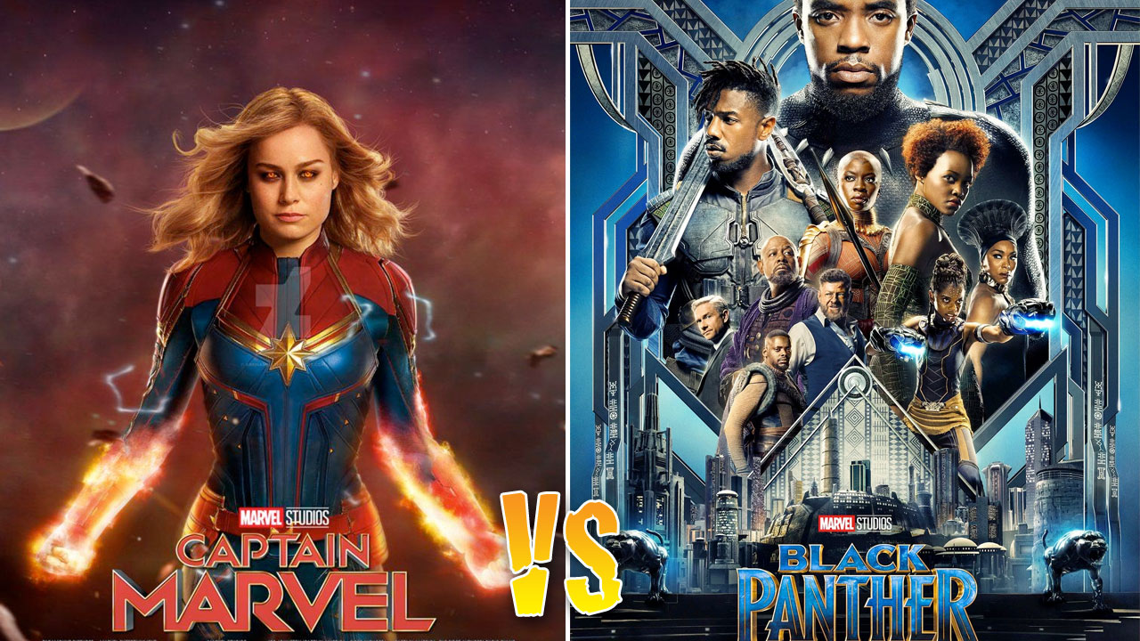 Captain Marvel vs Black Panther