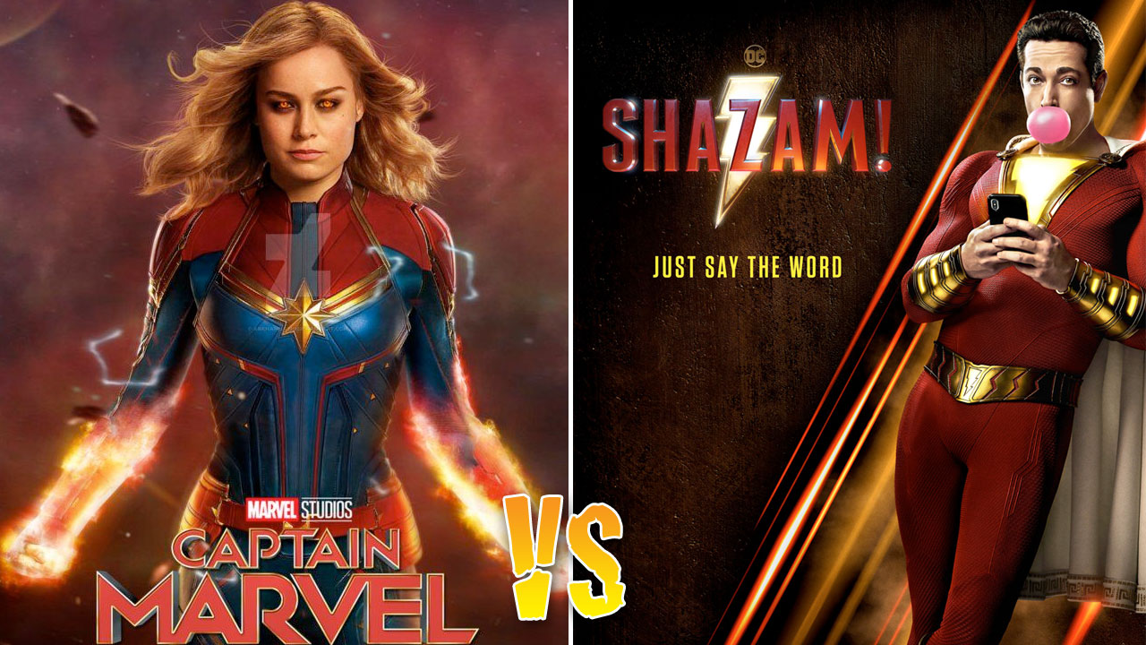 Captain Marvel VS Shazam
